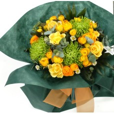 Sunshine yellow bouquet
