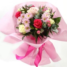 Bouquet in pink colors