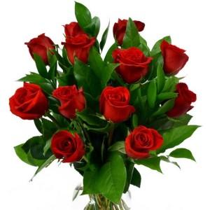 Valentine's roses bouquet