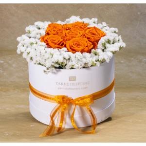 Forever Roses Orange