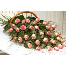 49 τριαντάφυλλα σε σύνθεση