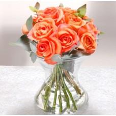 Μπουκετάκι με τριαντάφυλλα