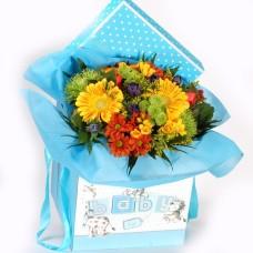 Baby Boy Special Bouquet