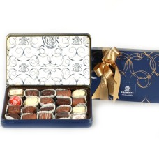 Leonidas pralines in metallic Giftbox