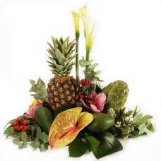 Exotic fruit & flowers