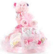 Boys, girls and teddies XXL Pink