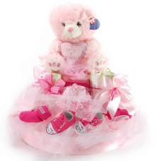 Boys, girls and teddies XL Pink