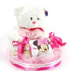 Boys, girls and teddies M Pink